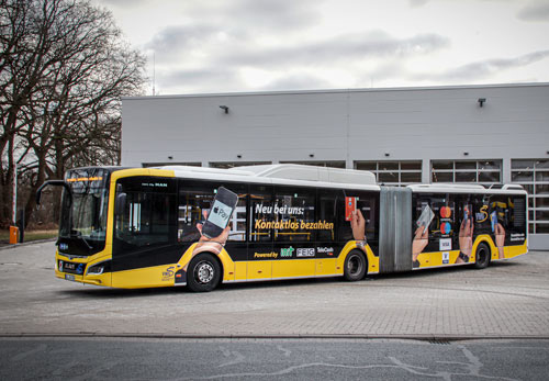 cVEND plug enables contactless payment on Oldenburg buses