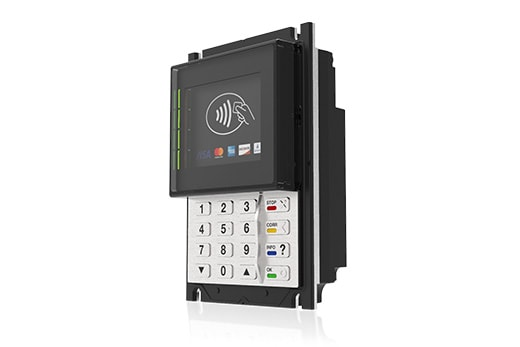 New PIN Pad Terminal for contactless payment systems